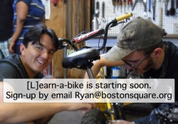 Learn-a-bike free bicycle education class Grand Rapids